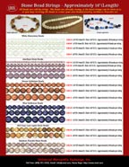 Stone Beads: Amethyst, Agate, Rainbow Fluorite, Goldstone, Moonstone, Old Crazy Lace Agate Stone Beads and Stone Bead Stings. Wholesale Stone Beads Catalogs, Stone Beads Strings Catalog, Stone Beads Strands Catalogs - Wholesale Stone Bead Stores and Supplies.