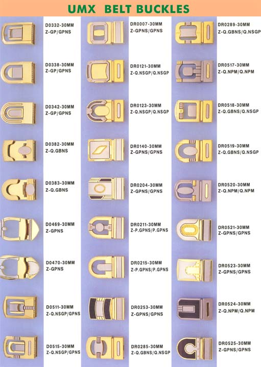 Buckles with clamp for belts, apparel, footwear, bags,industries and military