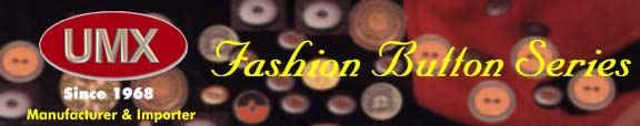 Buttons made of metal, alloy, polyester, ABS, wood, pearl, shell, leather, rubber,