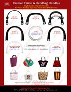 Catalogues - Stylish Fashion Purse and Handbag Hardware Accessory - Polyester Plastic Handles