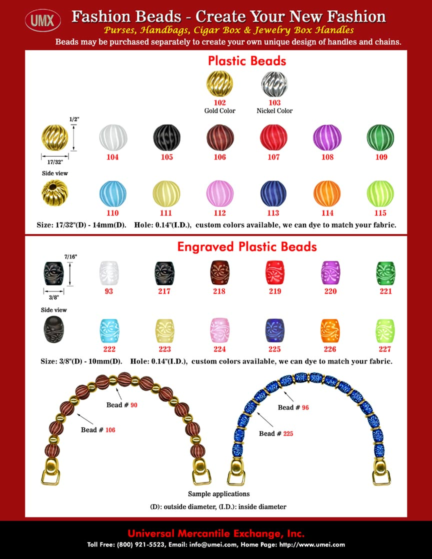 Wholesale Plastic Beads and Plastic Bead Supply: From Factory Direct Wholesale Online