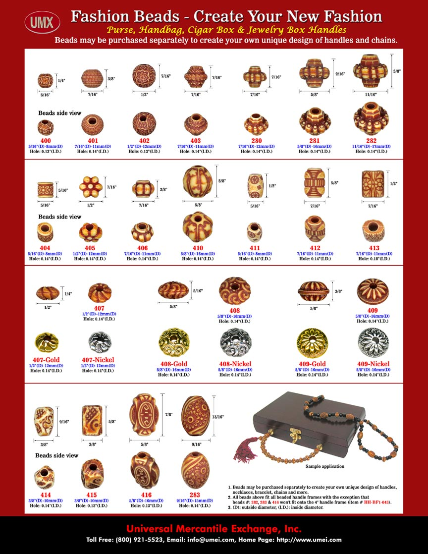 Bead Design: Custom Designed Beads and Personalized Beading Supplies.