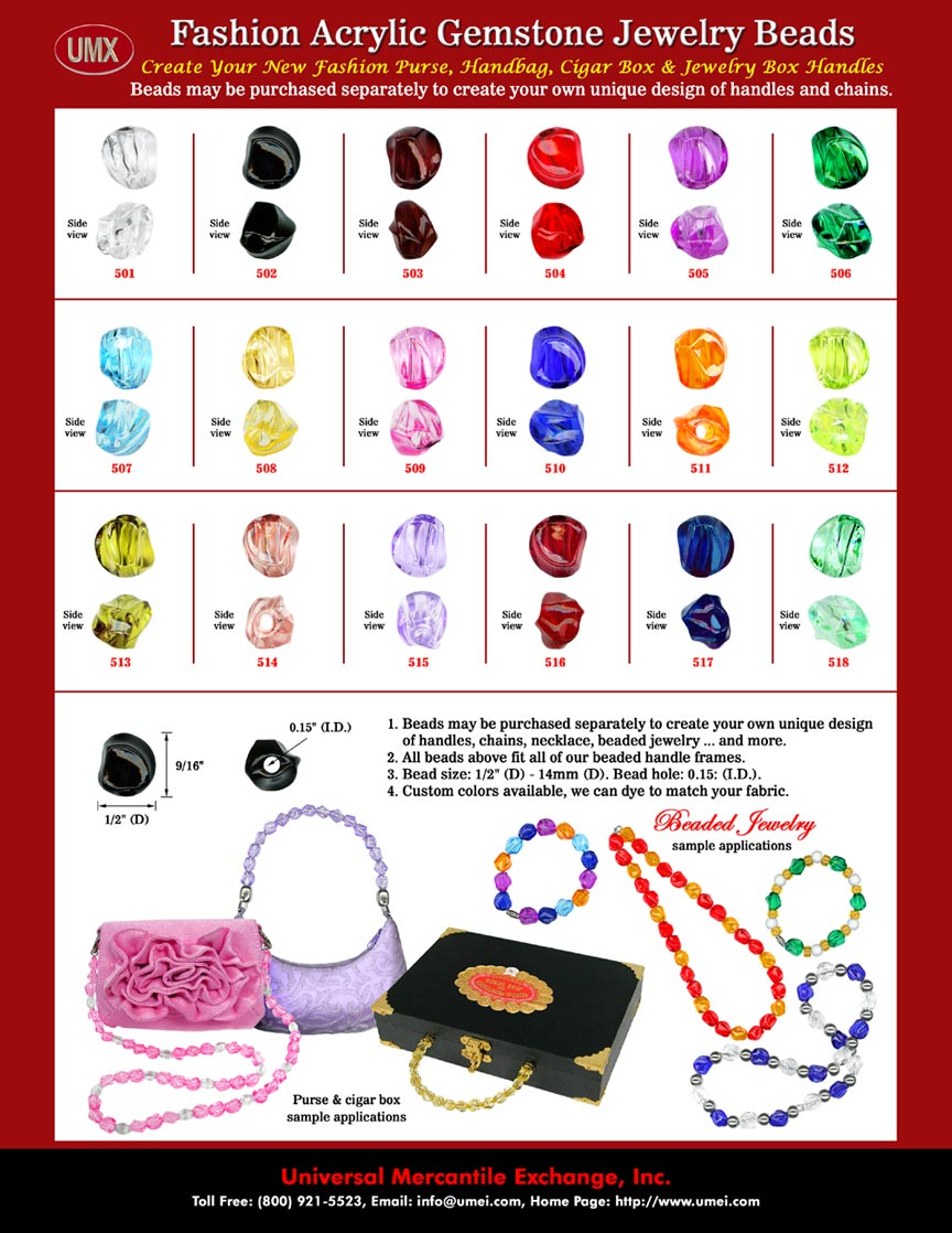Necklace Making Instructions and Make A Neck Lace Supplies: From Factory Direct Bead Store.