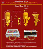 Hinge Hasp, Hinge Catch or Hinge Latch