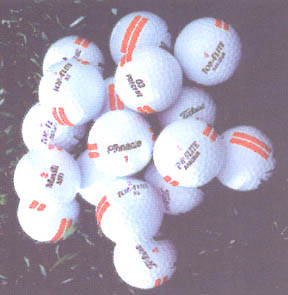 The best picked used  golf balls