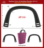Designer Handbag: plastic handle Colorful Latest Fashion Styles - AP114