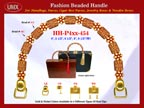 Wholesale Purse Handle: HH-Pxx-454 With Decorative Beads and Sun Flower Beads