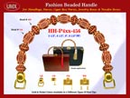 Wholesale Designer Purse Handles HH-Pxx-456: With Wholesale Beads and Wholesale Saucer Beads