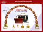 Wholesale Box Purses Handles: HH-Pxx-458 With Wholesale Barrel Beads and Wholesale Drum Beads