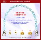 Beaded handbag handle hh-p470b