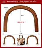 Rattan Cane - The Beauty of Mother Nature - Rattan Handbag Handles