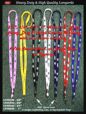heavy duty and high qulity lanyards