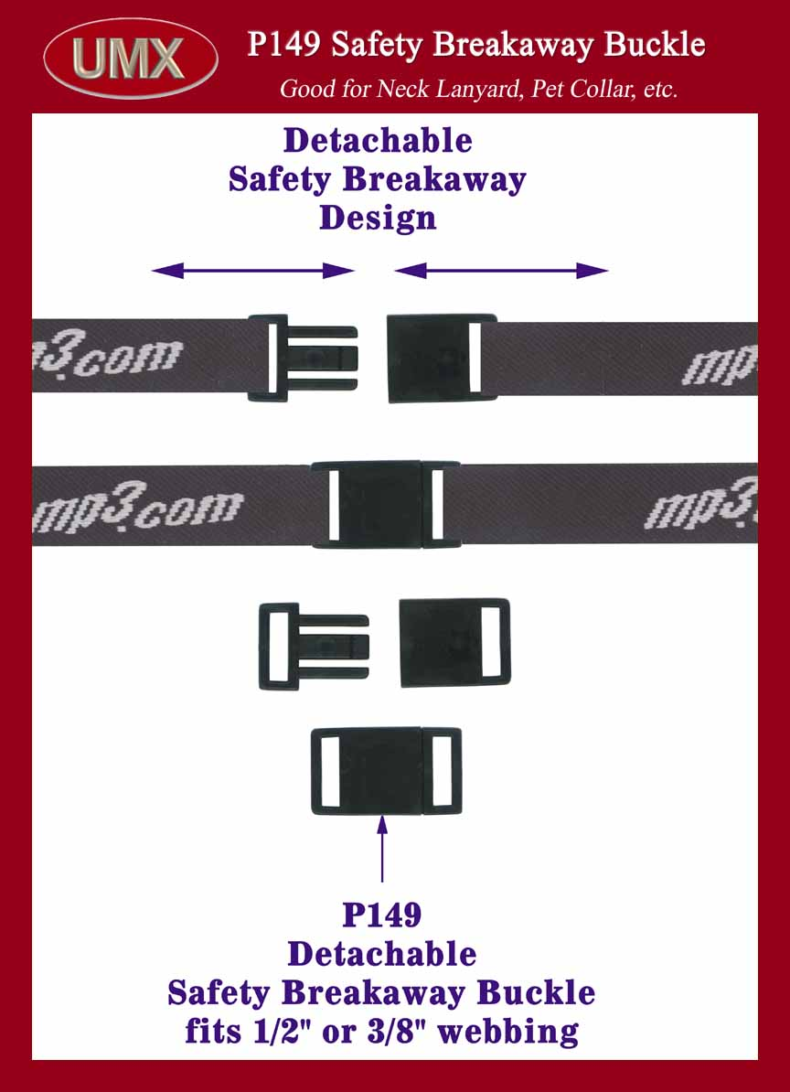 Buckle Safety Safety Buckle Breakaway