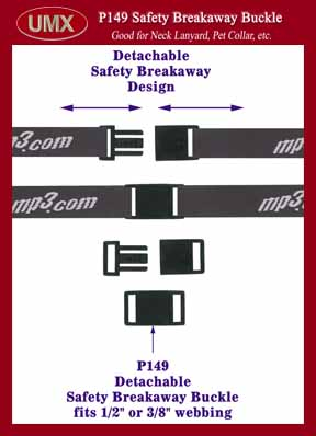 safety breakaway plastic buckle p149