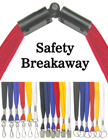 Plain Safety Breakaway Lanyards: Cotton Shoe String Safety LanyardsPlain Safety Breakaway Lanyards: Cotton Shoe String Safety Lanyards